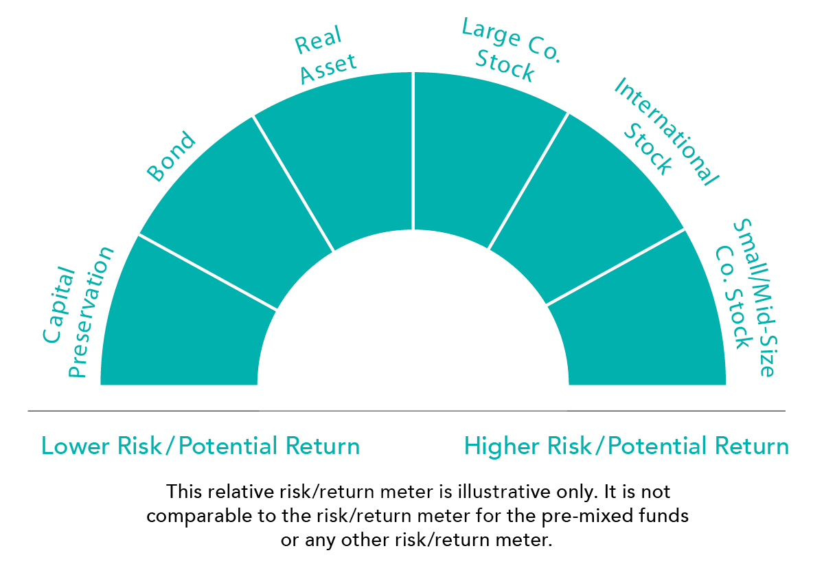 Risk return meter